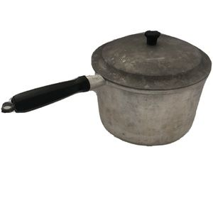 Miracle Maid Cookware Pot Sauce Pan Heavy Cast
